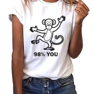 Camiseta publicitaria personalizada 98% tu