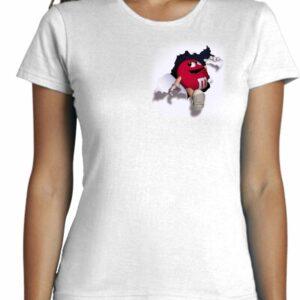Camisetas entalladas de mujer personalizadas