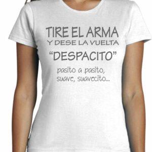 Camisetas cool con frases despacito