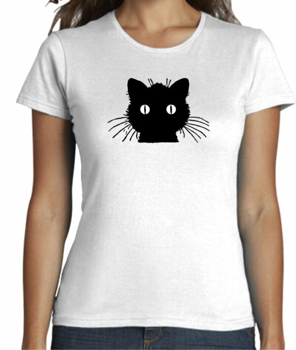 Camiseta cool minimalista para mujer