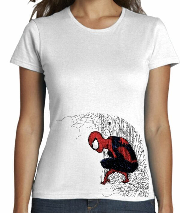 Camiseta entallada mujer estilo cool