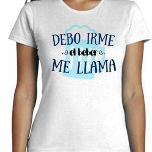 Camiseta cool entallada de mujer