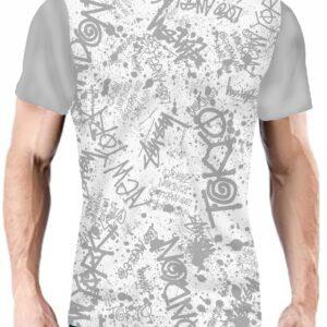 Camiseta Fashion con textos escritos
