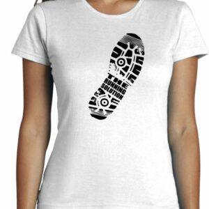 Camiseta estilo minimalistas de mujer manga corta