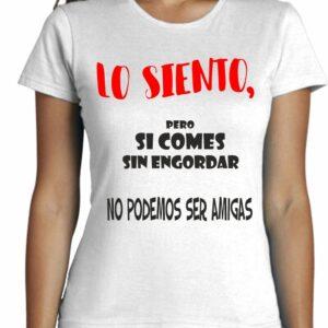 Camiseta entallada de mujer moda cool