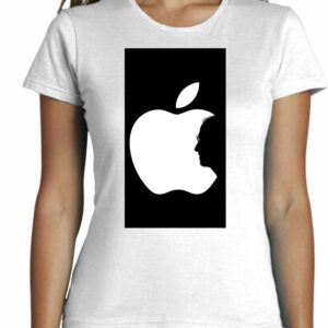 Camiseta Minimalista Manzana