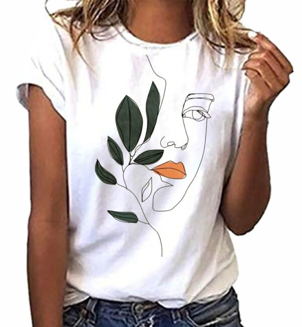 Camiseta cool minimalista