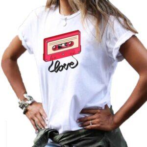 cinta de cassette donde comprar camisetas