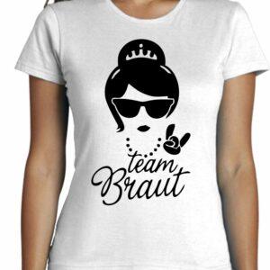 Camiseta fashion moda cool team Braut