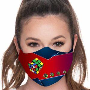 Mascarilla Cubo de Rubik