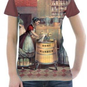Camiseta dibujo vintage