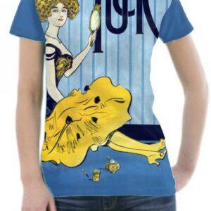 Camiseta personalizada moda vintage