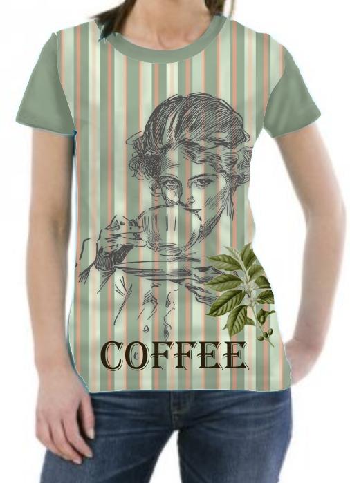 Camiseta Vintage Coffee