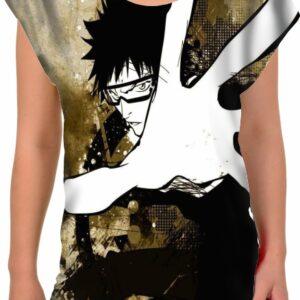Camiseta mujer mano blanca